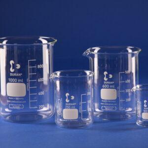 Bicchieri in vetro Pyrex/Duran